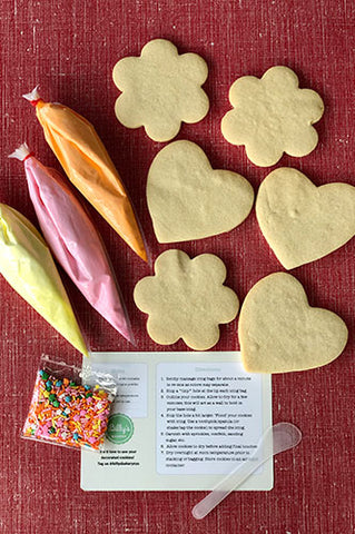 Cookie Decorating DIY Kit