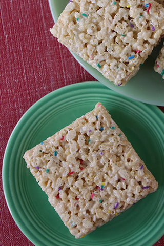 Marshmallow Krispie Bar