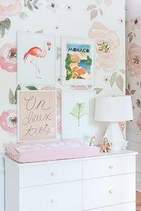Pretty In Pink: Monika Hibbs' Nursery Reveal