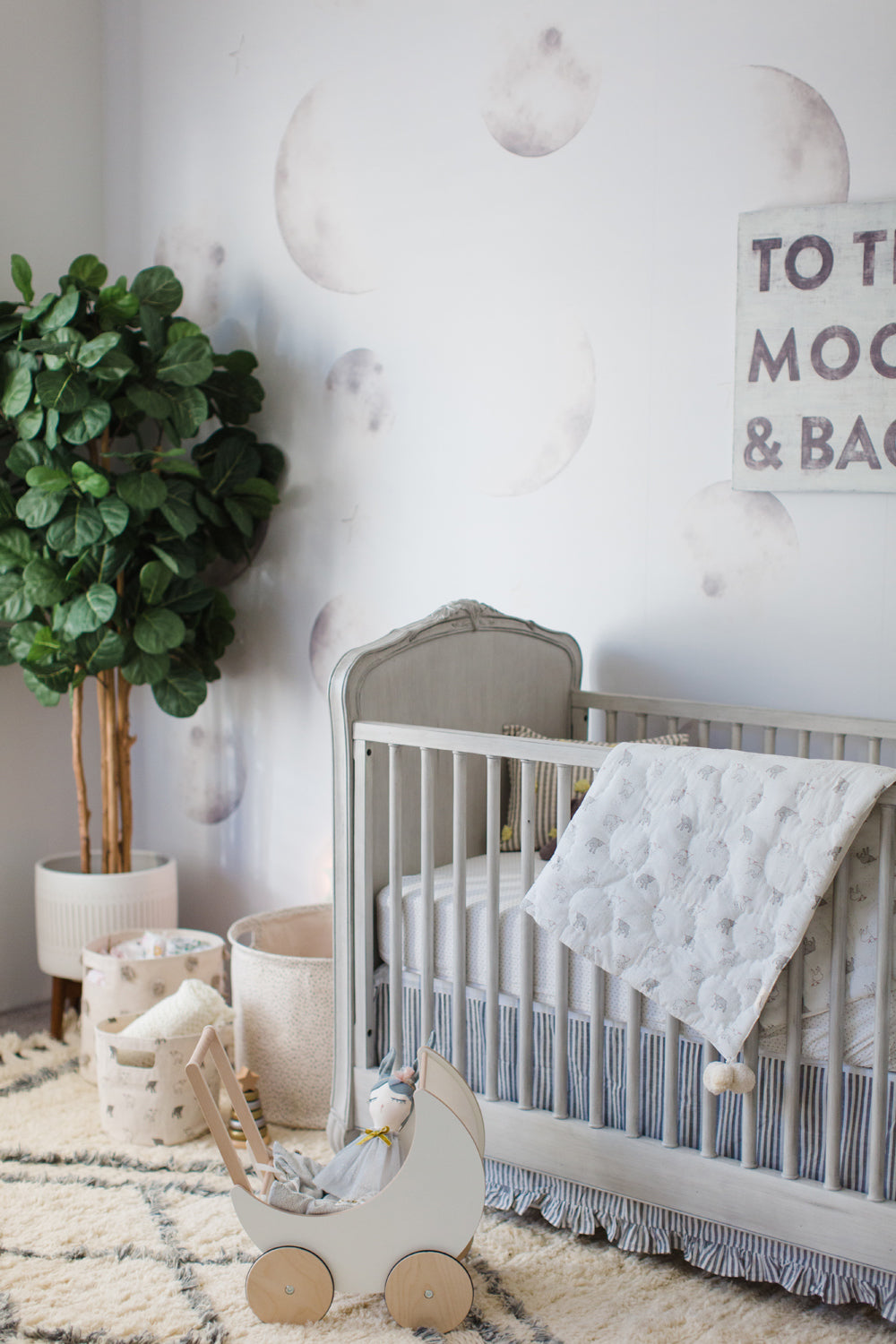 We're Over The Moon - Caitlin Lindquist's Nursery Style