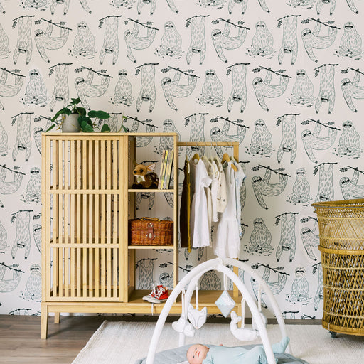 Boho animal print wallpaper Neutral