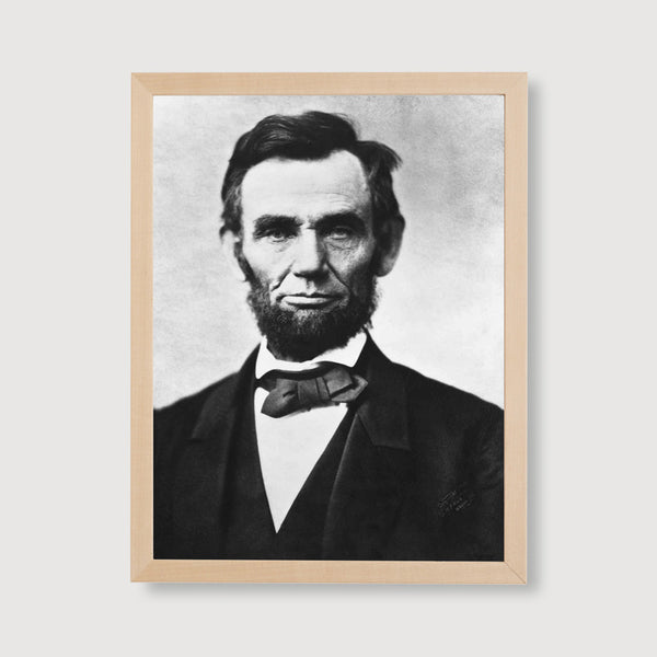 abraham lincoln framed art