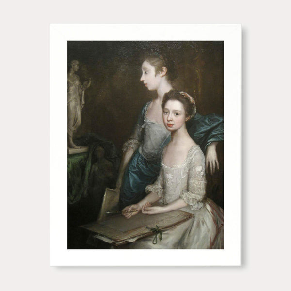 gainsborough artist daughters print