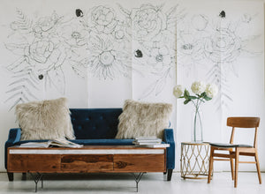 Blooming Garland Mural