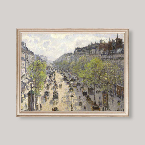 Antique French Boulevard