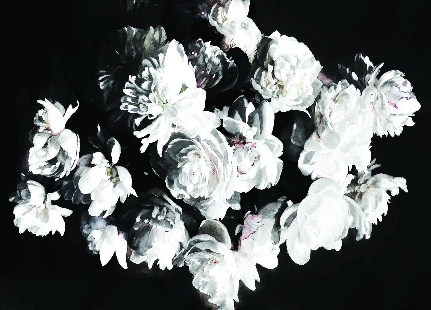 Bouquet of Peonies Wallpaper