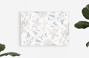 breezy botanical art print