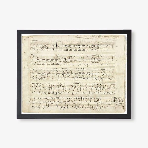 Historic Sheet Music
