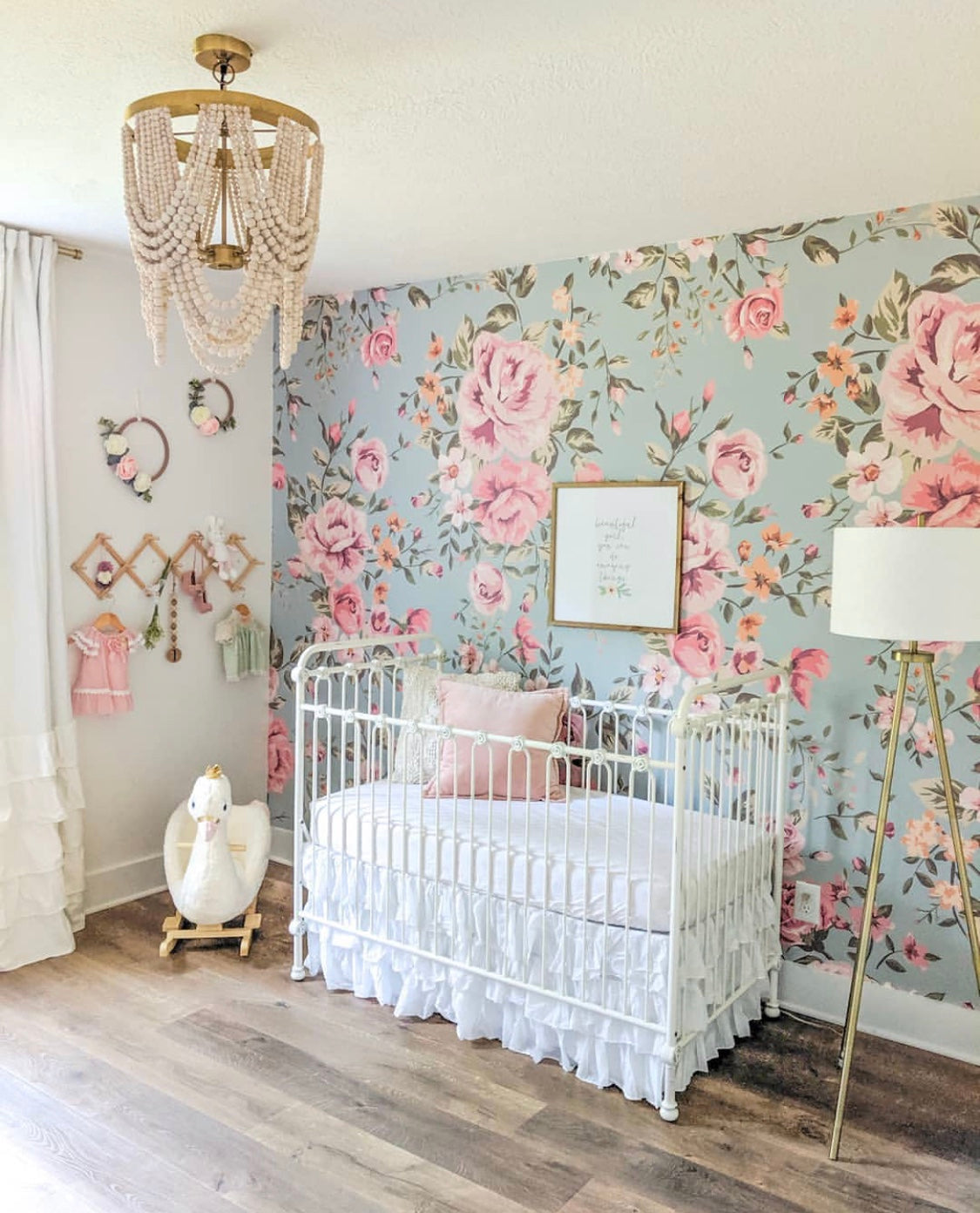 Vintage Floral Cutesie Wallpaper Anewall Mural Wallpapers