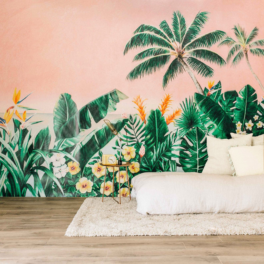 tropical wallpaper for walls