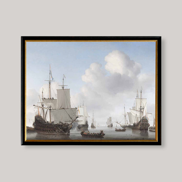 historic men o war ships