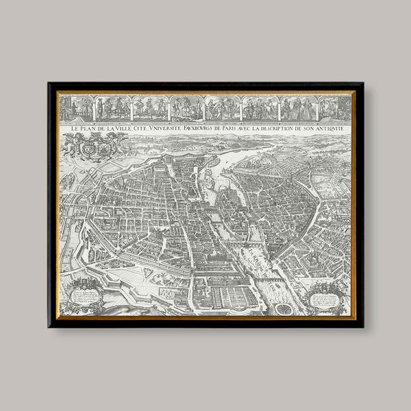 seventeenth century paris view