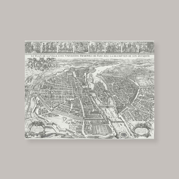 Merian Map of Paris
