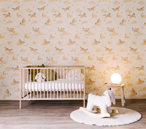 modern nursery wallpaper