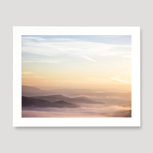 calm landscape wall art