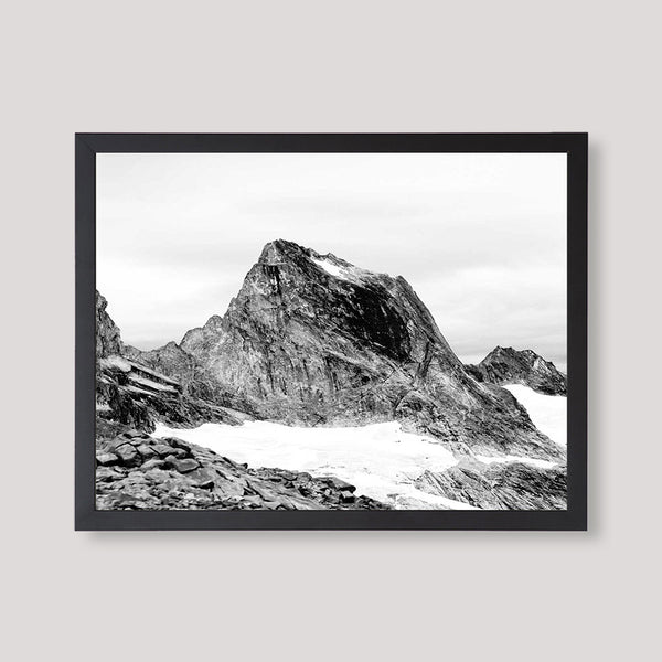 nature print mountain