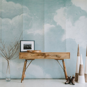 nuage cloud mural