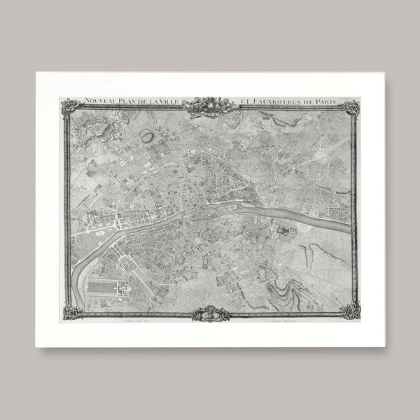 paris fountains and waterways map