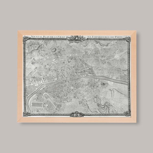 historic paris map