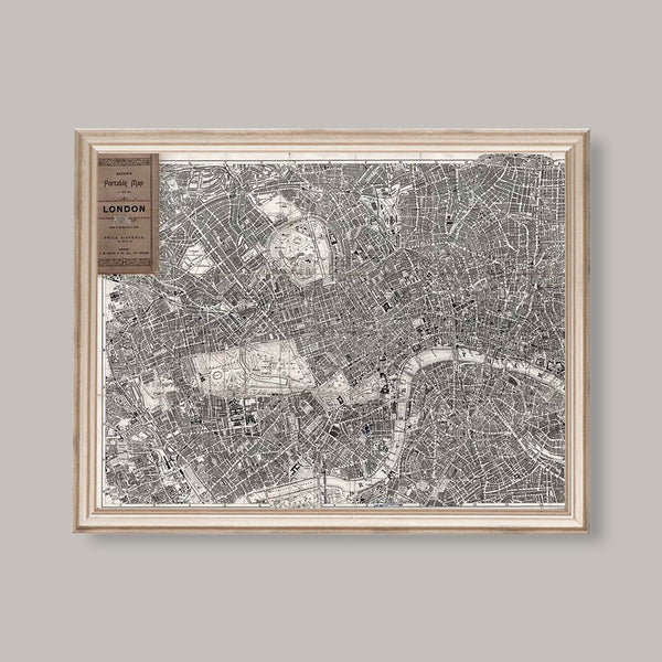 antique pocket map