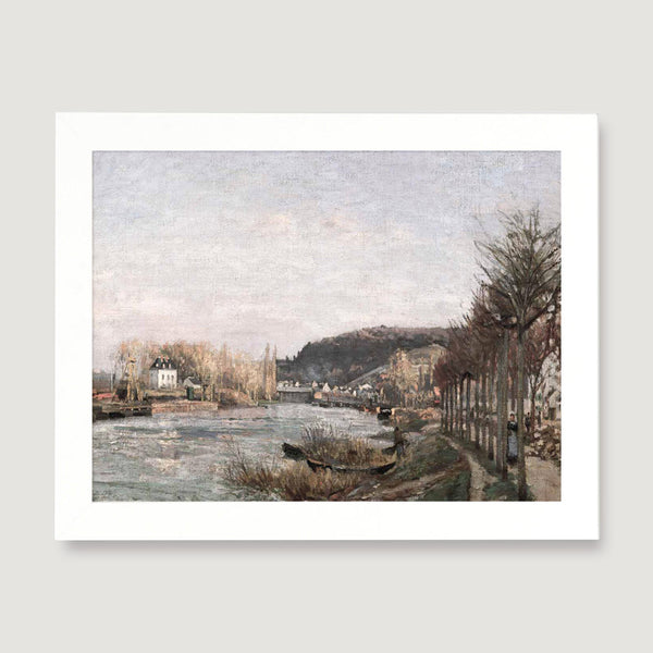 seine at bougival print