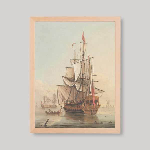 colored nautical prints