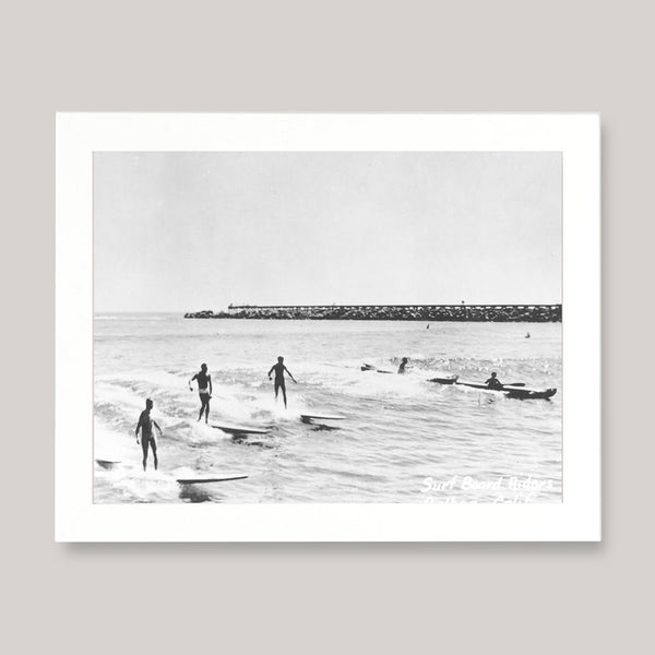 Surfers Retro Photo