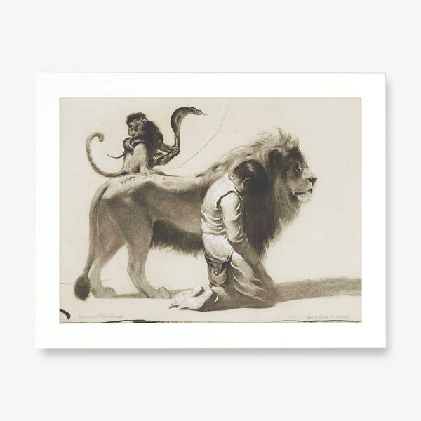 norman rockwell lion image