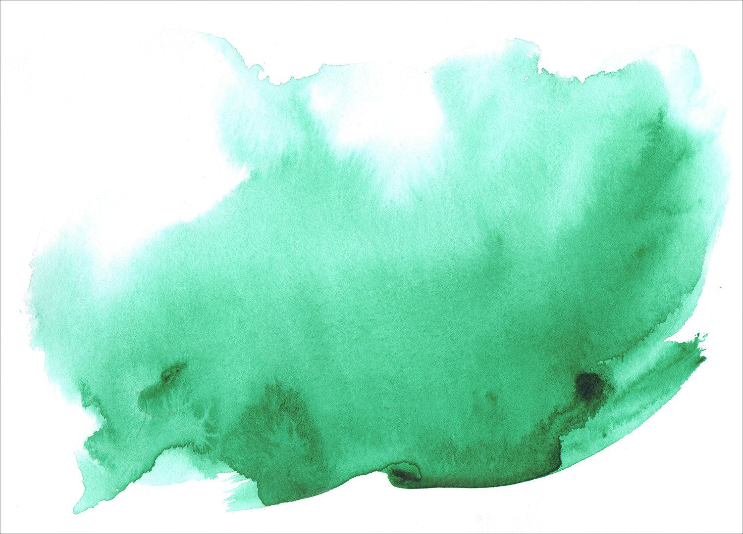 green watercolor wallpaper