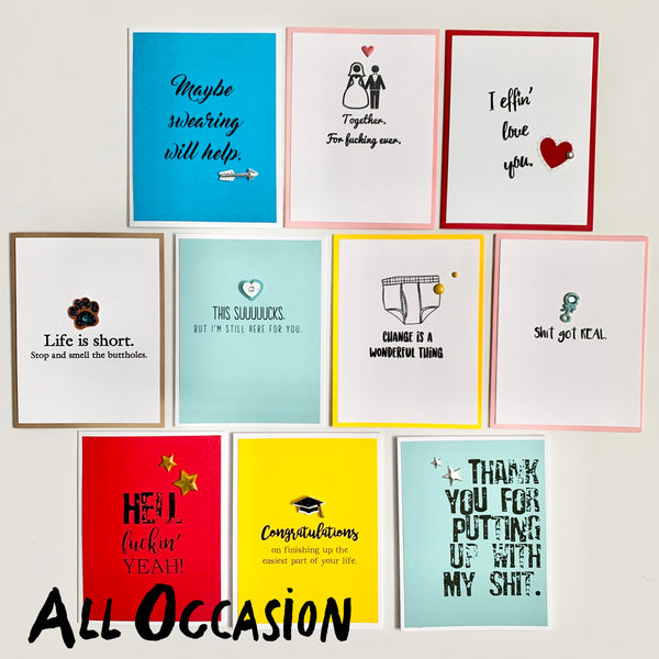 10-Card Value Pack: All Occasion Set