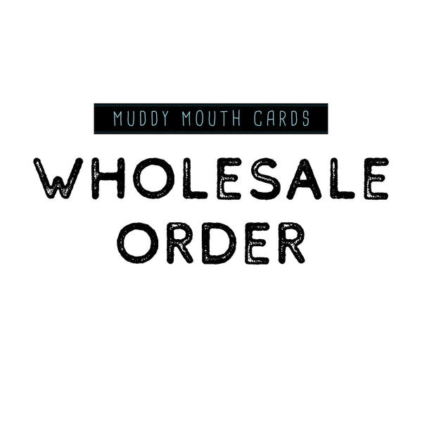 NEW Wholesale Order- First time order