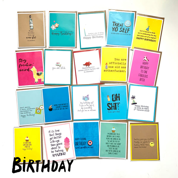20-Card Value Pack: Birthday Set