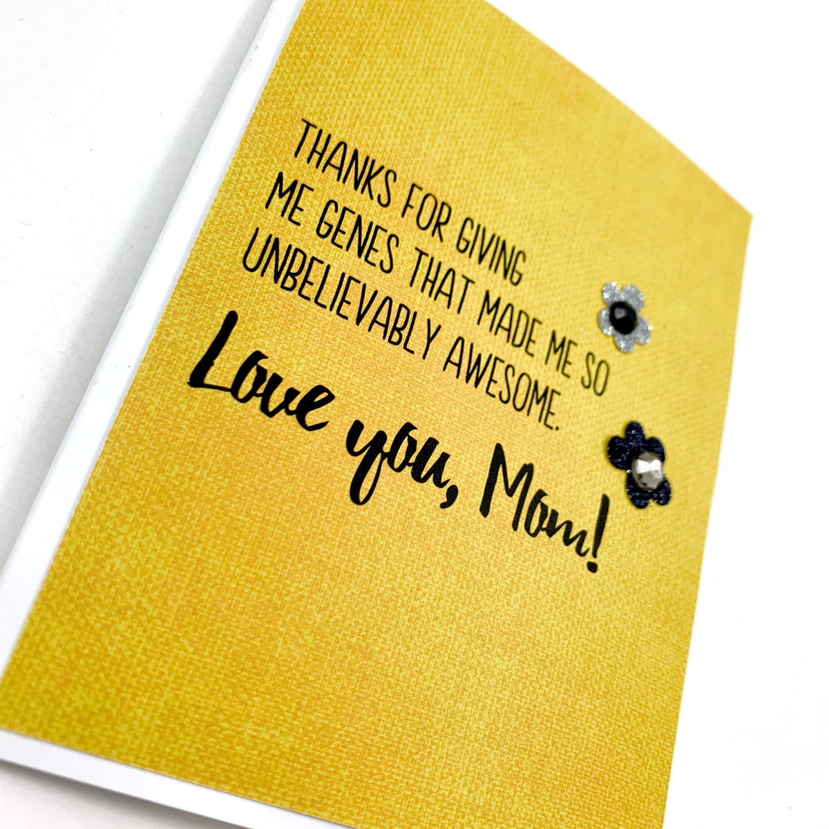 Mother's Day Giving Me Genes card