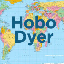 Hobo-Dyer Equal Area Projection Map