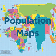 Population Map Collection