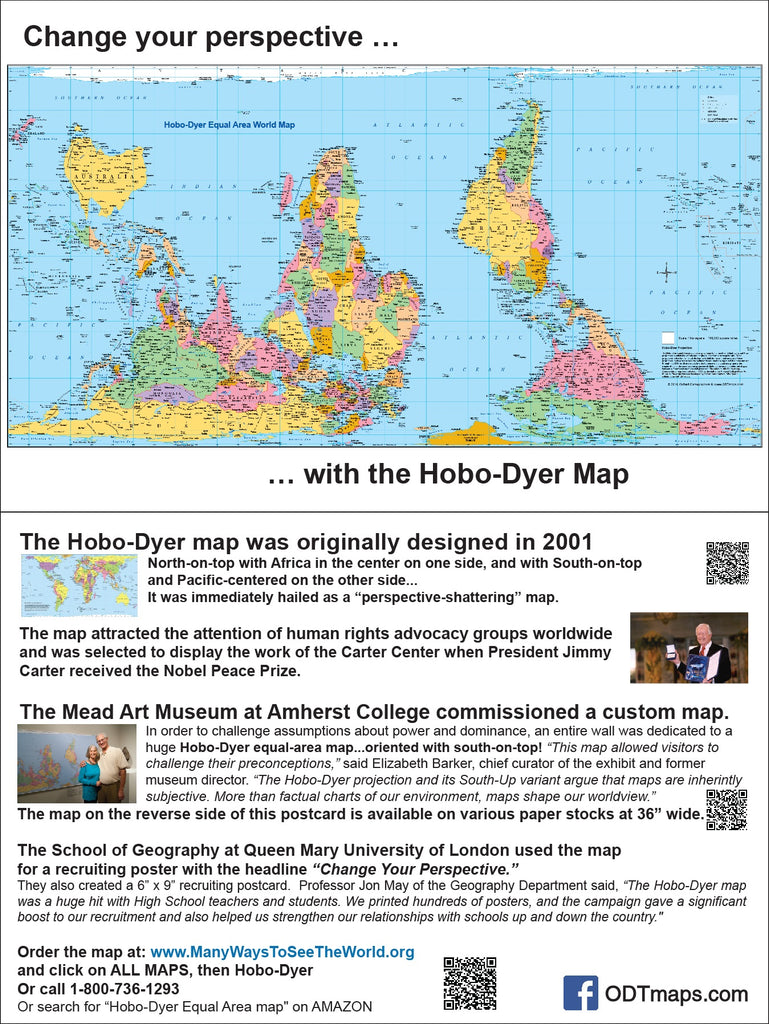"Hobo-Dyer - Mead Museum - 6x9"" Map-card - $25 for 25 cards"