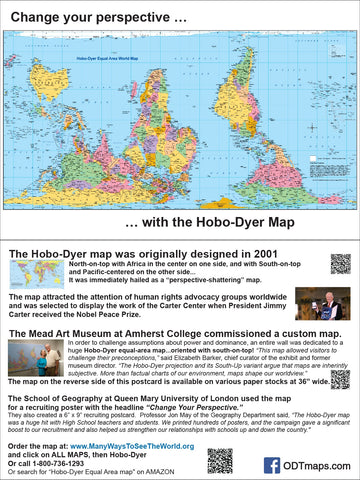 "Hobo-Dyer - Mead Museum - 6x9"" Map-card - free sample"