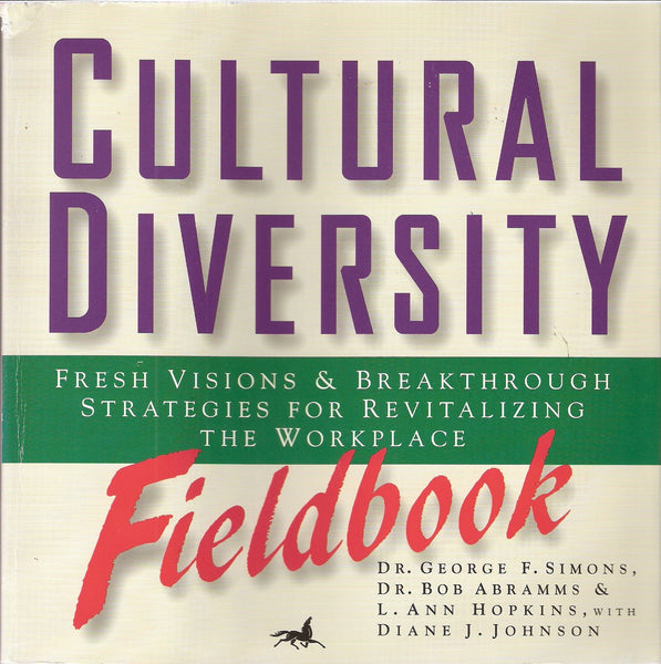 Cultural Diversity Fieldbook - e-book - * digital $7.95 download