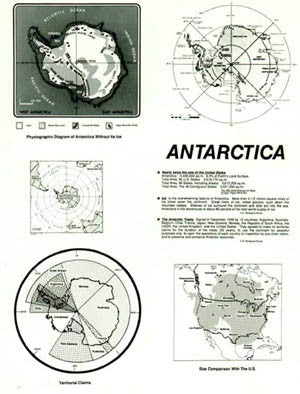 ANTARCTICA - 5 views of the continent