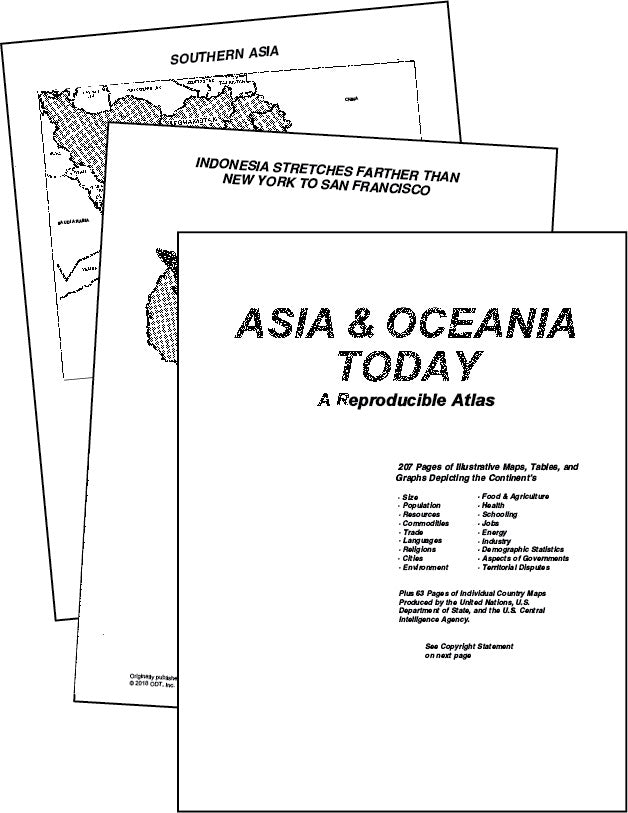 Asia & Oceana Atlas - download * digital $3.95