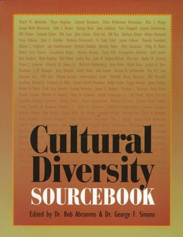 Cultural Diversity Sourcebook * Diversity - Hardcopy - available on AMAZON
