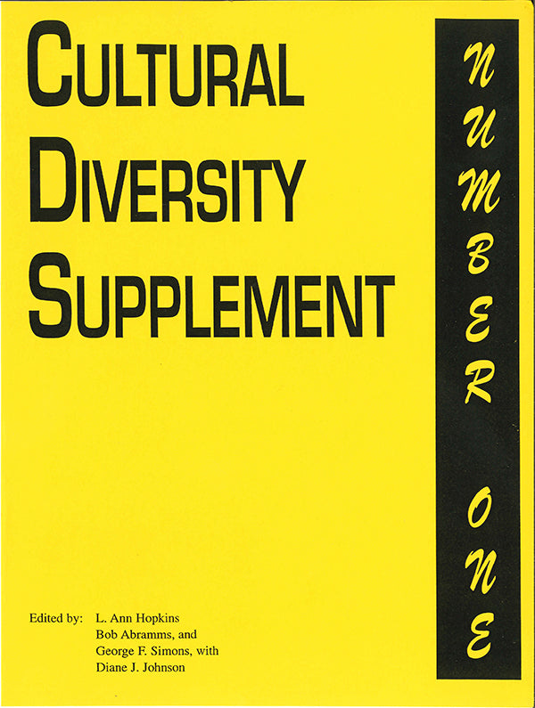 Cultural Diversity Supplement#1 - e-book - * digital $3.95 download * free for personal use