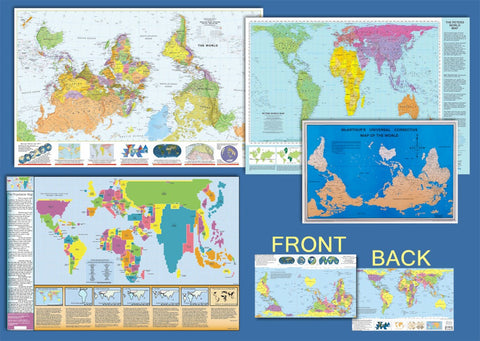 Map Combo Pack - Laminated