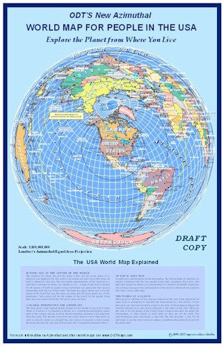 World Map for People in the USA - 11x17 in.- paper on culture world maps, service world maps, black and white world maps, helpful world maps, teaching world maps, practice world maps, reliable world maps, sweet world maps, creative world maps, pattern world maps,