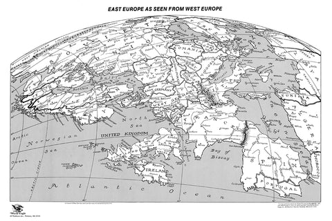 East Europe as seen from West Europe * digital license FREE