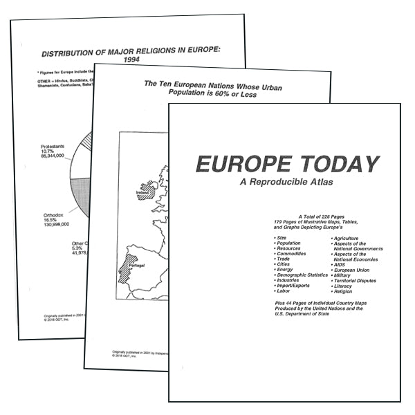 Europe Atlas * digital license $39.95 (for 1 location)