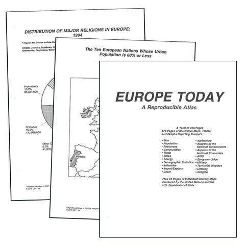 Europe Atlas * digital license FREE