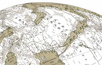 Global Perspective Map set by Russell Lenz