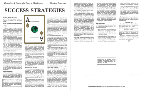 Success Strategies / Golden Ace * digital - free * 2 pages