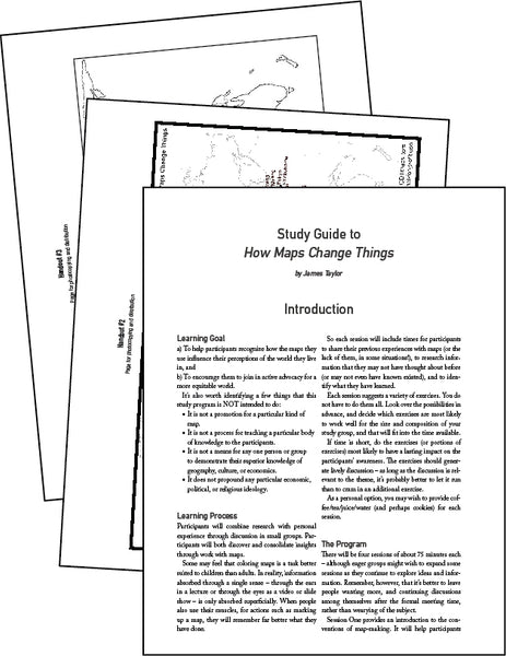 How Maps Change Things - Study Guide * digital - free *